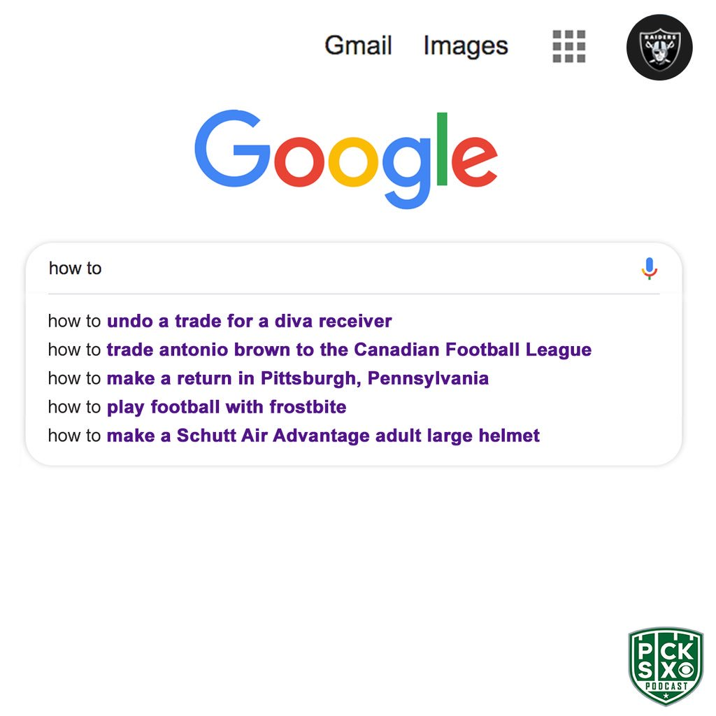 A look at the Oakland Raiders' search history <br>http://pic.twitter.com/uzbzmn0jd4