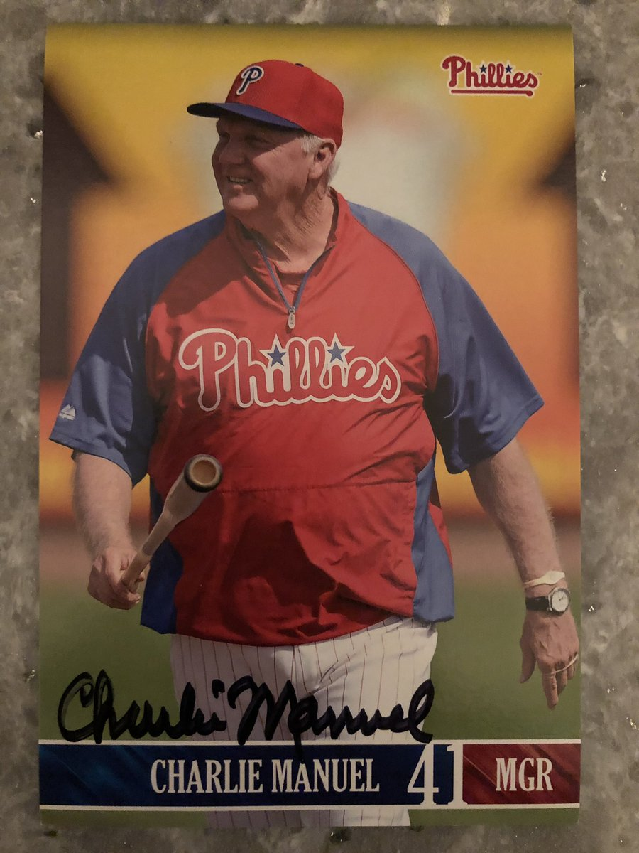 #Eagles question for @caplannfl and @GeoffMosherNFL? Reply to this tweet with your question and they'll answer it in their #AskITB segment. A new pod records Monday! Also, listen to the next @InsideBirds to win an autographed Charlie Manuel card!