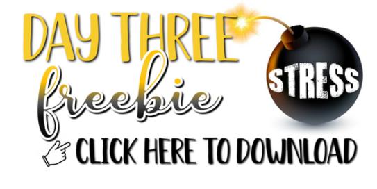 Day Three of Freebies from Purposeful Pedagogy. ampeduplearning.com/under-pressure…