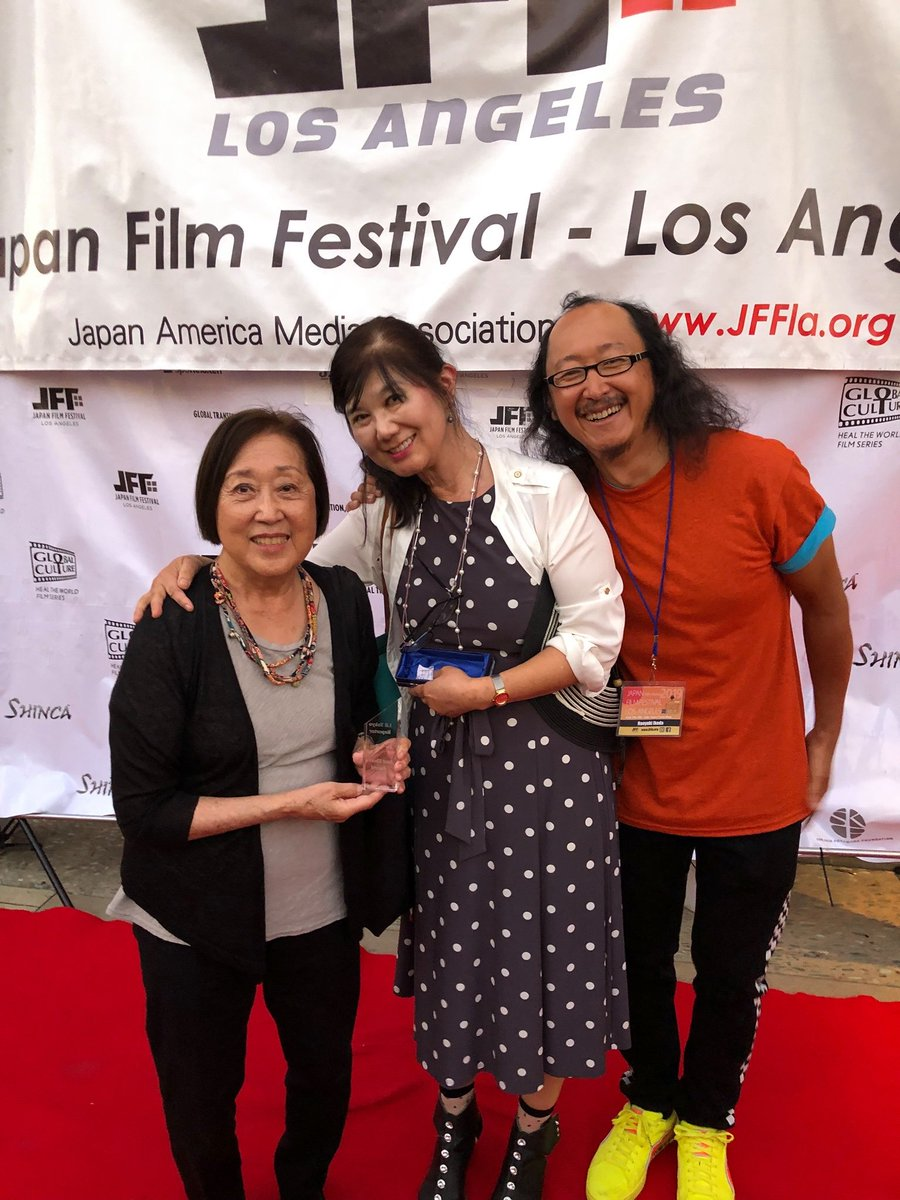 Congrats @LTReporterFilm - Best Short+ Award @JFFLA 2019 #JFFLA2019 #LilTokyoReporter #ShortFilms <br>http://pic.twitter.com/2847663aDq