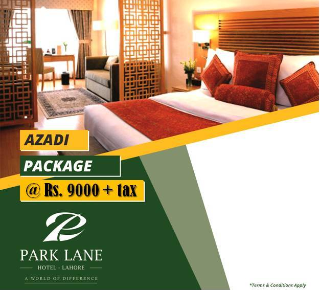...and we continue with our special offer _ Azadi Package‼️ Avail rooms on Double Occupancy @ Rs. 9000 + tax per night.  Limited Time Offer‼️  ☎️ 042 111 111 124 🔗 http://parklane.pk/promotions/  #ParkLaneHotelLahore #AWorldOfDifference #BoutiqueHotel #AzadiPackage #MMAlamRoad #Lahore