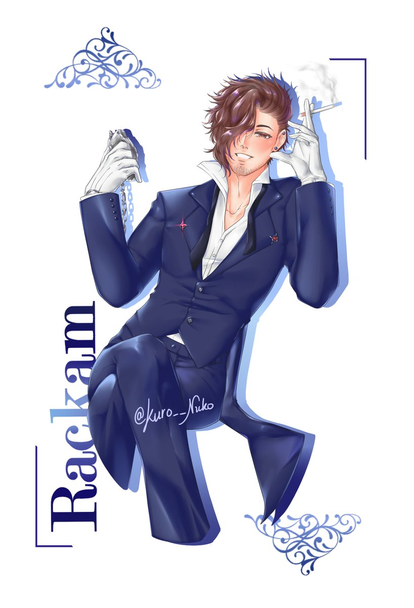Yt suggested a remix of 'Sexy Back' one day and my brain instantly visualized it as this  #ぐらぶる #ラカム #グラブル #Rackam #GranblueFantasy <br>http://pic.twitter.com/jzb9zyB45S