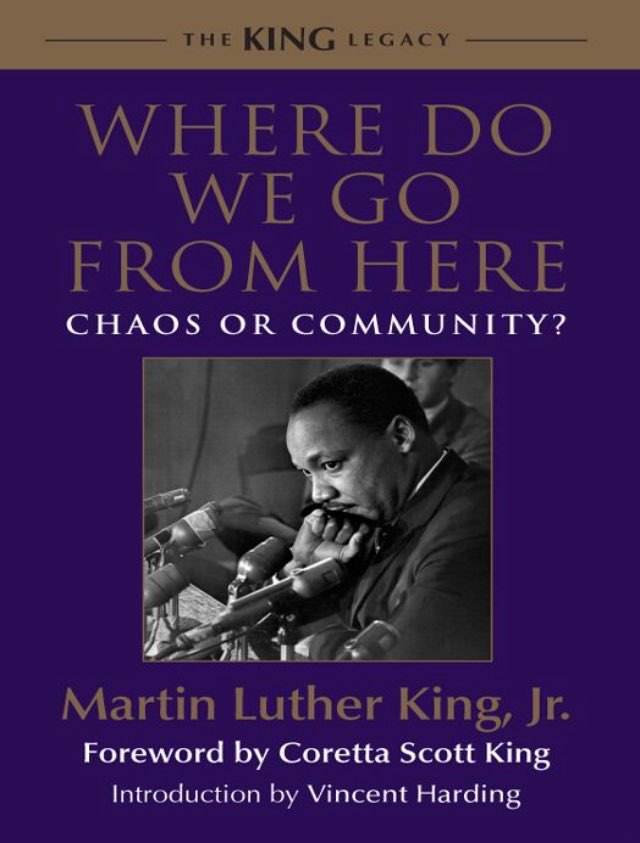 For those of you who are offended by the #1619Project and may erroneously use my father's quotes to defend your offense, read the 'Racism and the White Backlash' chapter in his book, 'Where Do We Go From Here: Chaos or Community?' first. Quotes from 'WDWGFH' follow. @nhannahjones