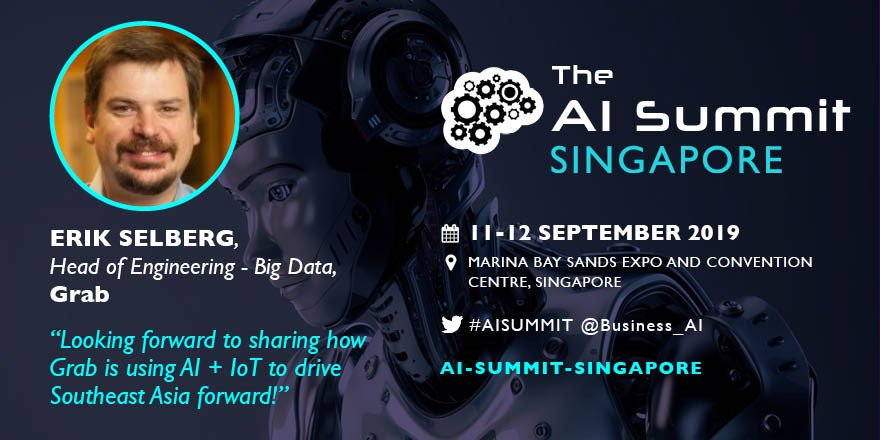 .@GrabSG is all set to take the stage at #AISummitSingapore this September and share its #AI experiences → spr.ly/6015EFo95 #TechXLR8