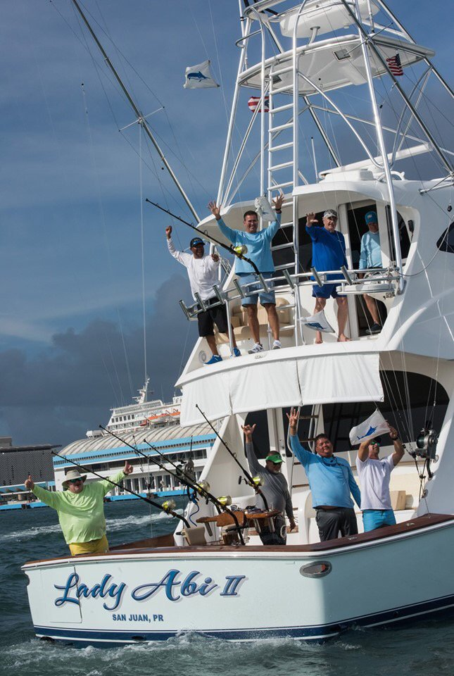 San Juan, PR - 56 Blue Marlin released in the IBT. Top Boat was Lady Abi with 4 Blue Marlin.
