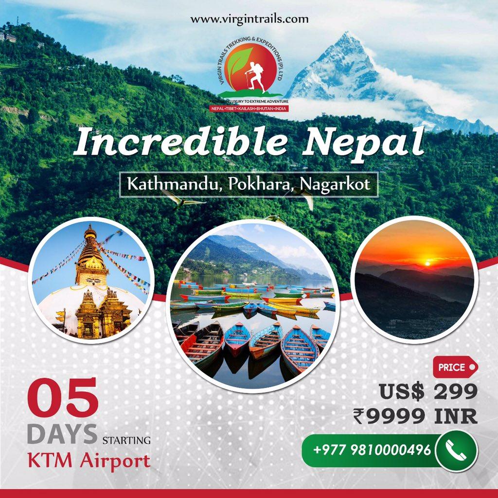 http://www.virgintrails.com#virgintrialspvtltd #virgintrails #Nepal #nepaltour #nepaltrekking #Nepalpackages #trekking #adventure #trekkingtrip #trekkingpackages #indiatonepal #mountains #mountainscalling #tourpackage #kathmandu #kathmanduvalley #pokharavalley #trip #kathmandu