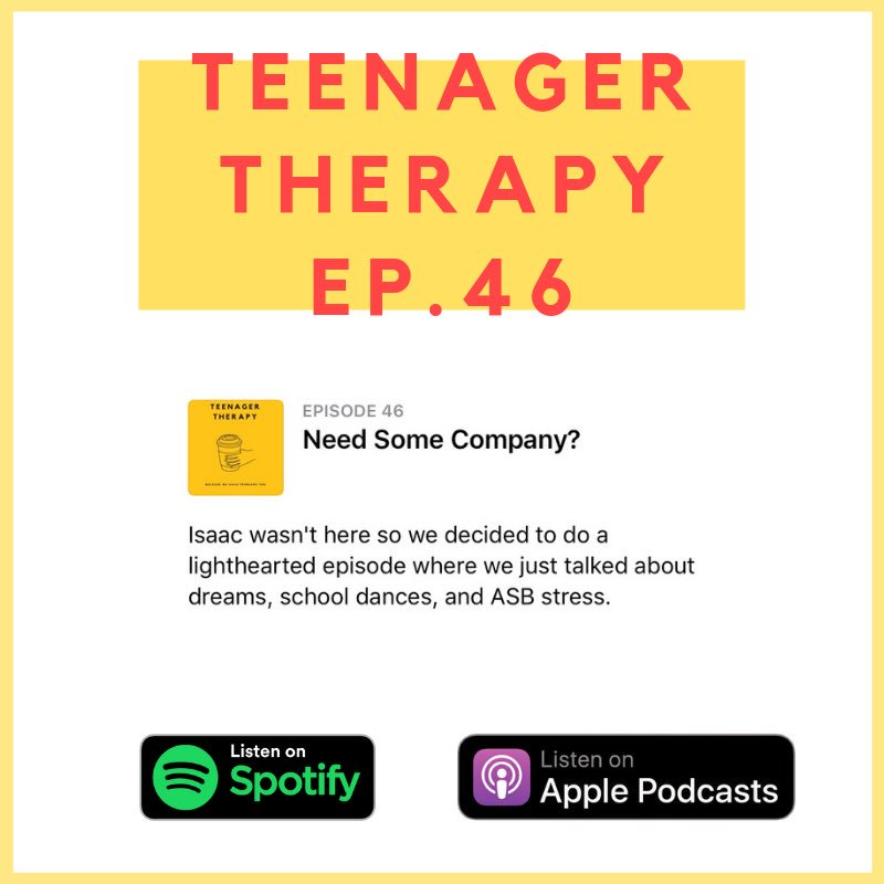 Teenager Therapy (@TeenagerTherapy) | Twitter