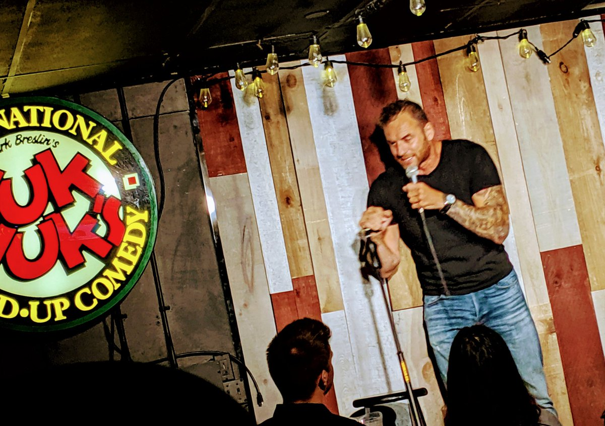 Good times @YukYuksOttawa last night all in support of camp Smitty/Minwassin