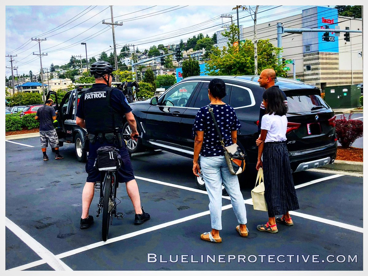 Vehicle was towed for being unauthorized. Driver parked and walked off property. #bluelineprotective #patrol #towed #parkingfail #hempfest #seattlehempfest #seattle<br>http://pic.twitter.com/JsmRl2yj9l