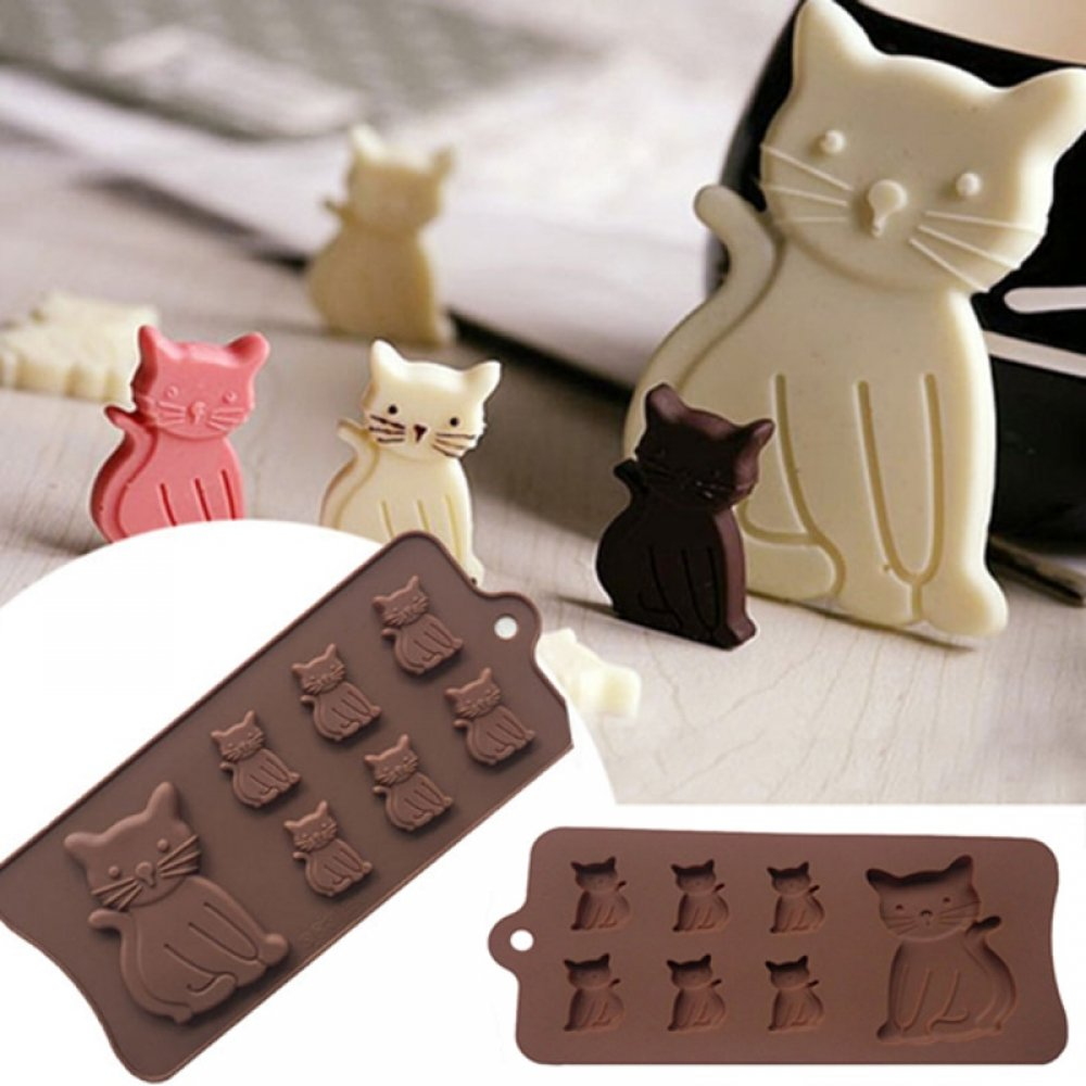 #hashtag4 Cat Kitten 7 Cavity Silicone Mold for Fondant, Gum Paste, Chocolate, Crafts MF100-in Cake Molds https://t.co/O7QgiIKdO9 https://t.co/uhJxeCF1uO