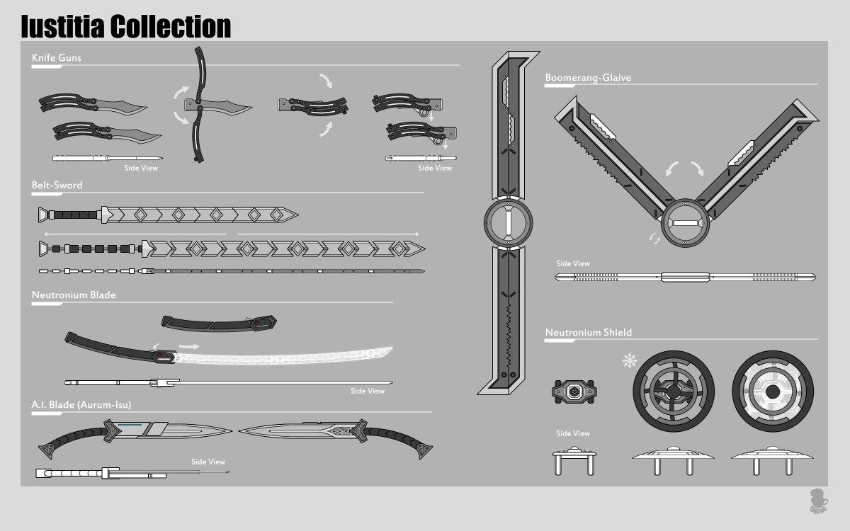 Commission: Original Weapon #RWBY #RWBYOC #OC #Weapon