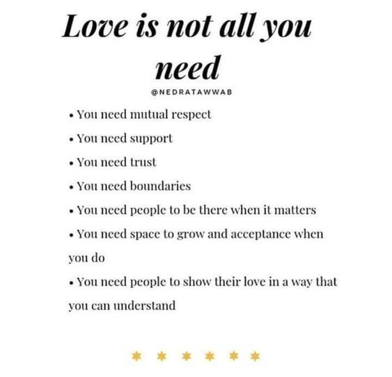 #Love Is Not All You Need...  #LightUpTheLove #LUTL #inspiringquotes #SundayThoughts  #mindfulness  #weekendvibes  #JoyTrain  #ThinkBIGSundayWithMarsha<br>http://pic.twitter.com/1syP2ozN2E