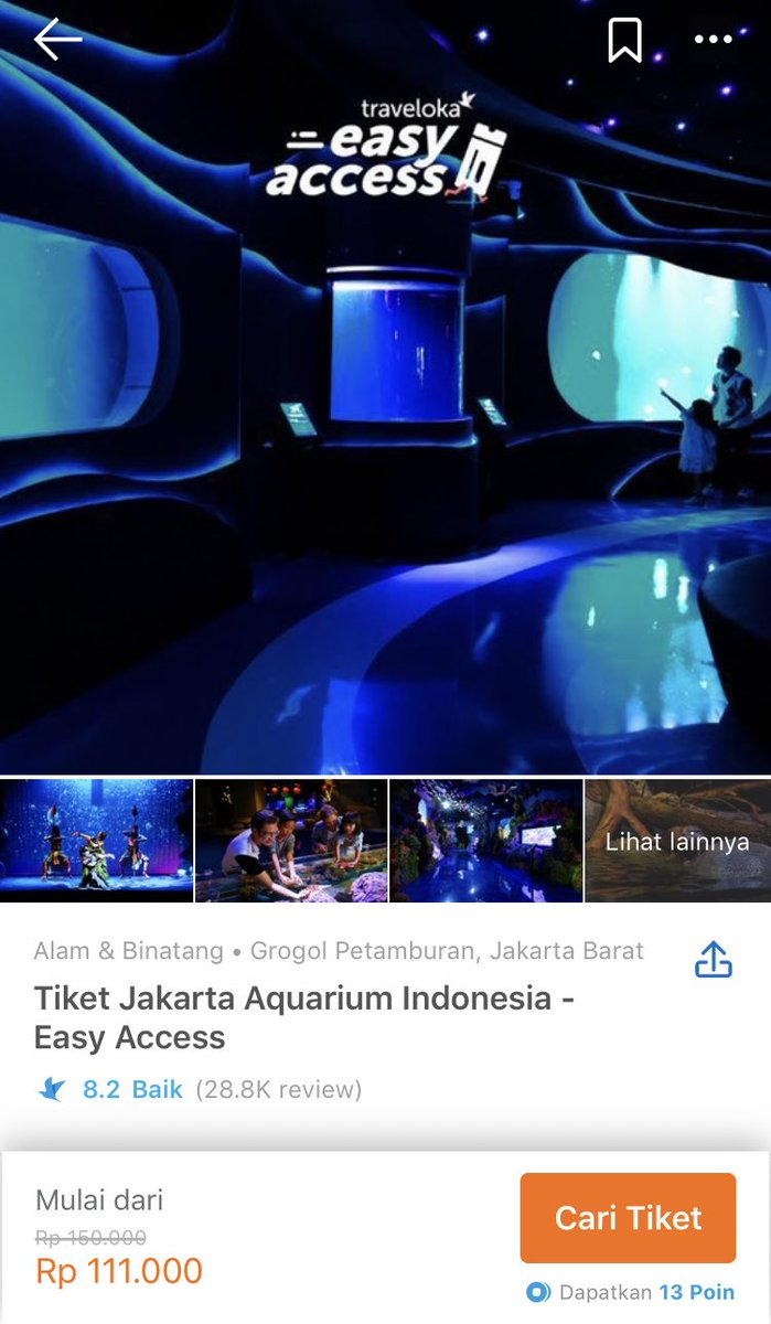 Traveloka Indonesia On Twitter Ke Jakarta Aquarium