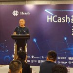 Image for the Tweet beginning: Hcash team in Hong Kong