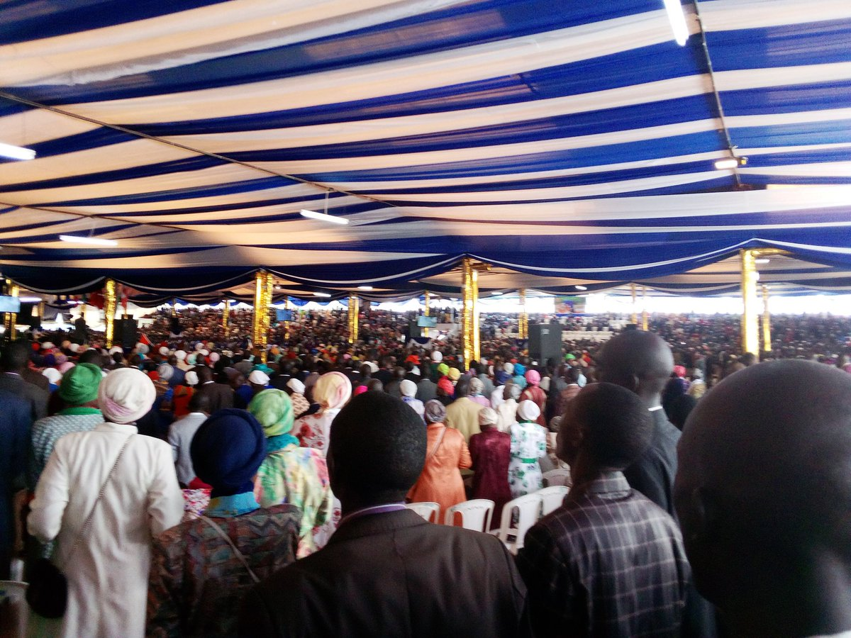 #NakuruWordExpo2019  I surrender my life to Jesus a very powerful worship.<br>http://pic.twitter.com/x8pvtQsSMT
