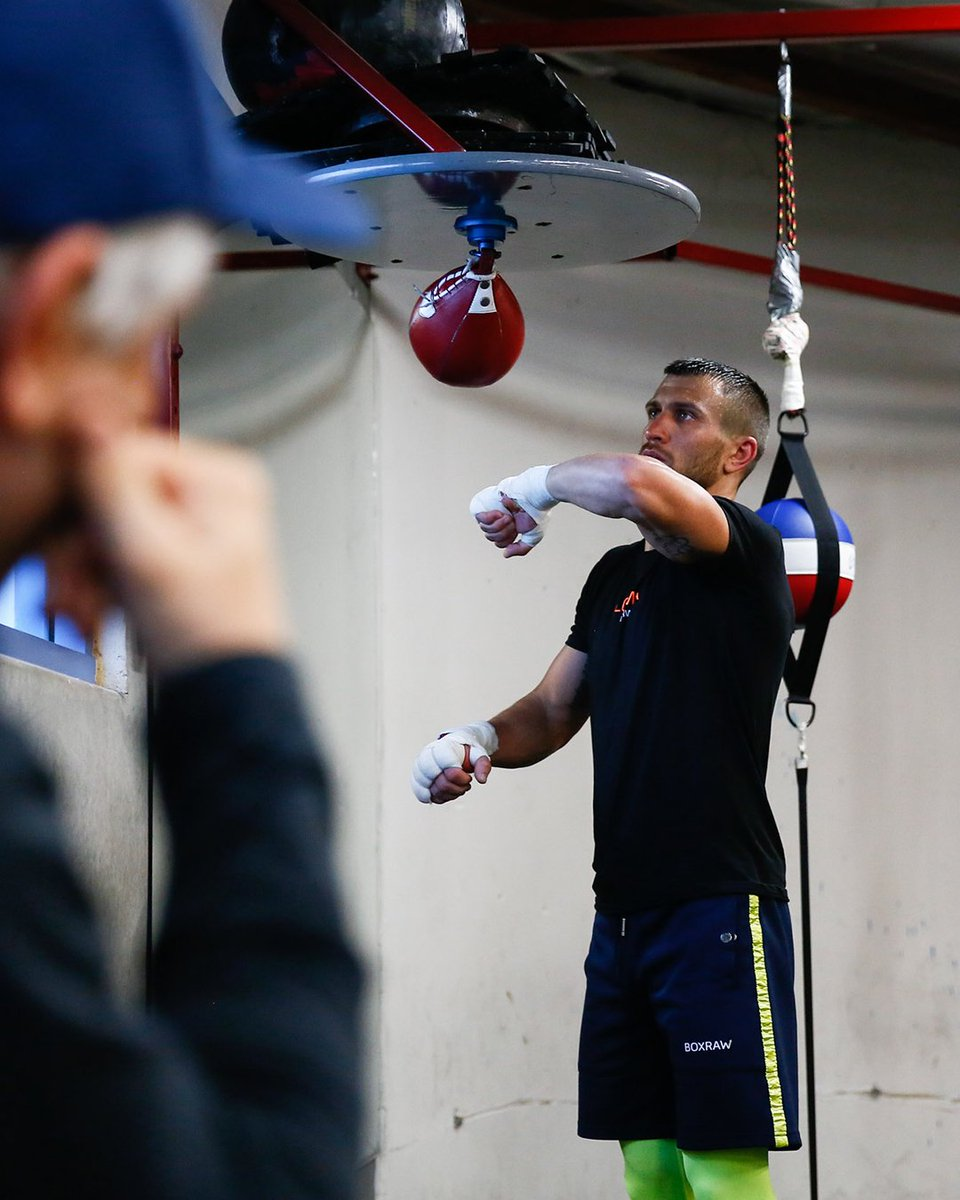From the moment they put on their first pair of gloves, to the moment they step into the ring, a fighter's support system is there to ensure they excel. Vasyl Lomachenko under the watchful eye of father, and trainer, Anatoly Lomachenko, ready for Loma's return to the ring 8/31. https://t.co/93aCDJHnrO