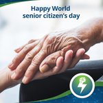 Image for the Tweet beginning: On this world senior citizen's