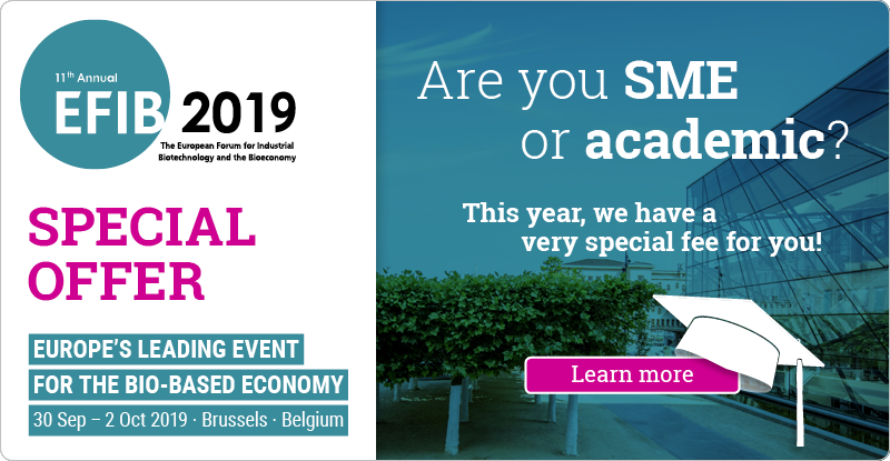 test Twitter Media - Are you a #BioTech SME or academic? Register for #EFIB2019 and enjoy the special rate we have reserved for you! 🚀 #Bioeconomy #biobased #IndBiotech  Learn more here 👉 https://t.co/6Cn19oW5jo https://t.co/zxd4JUlRcI
