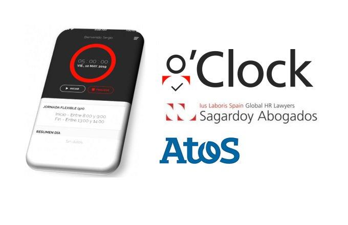 Atos y @Sagardoy Abogados presentan la #SolucionOClock, una solución que simplifica el control...
