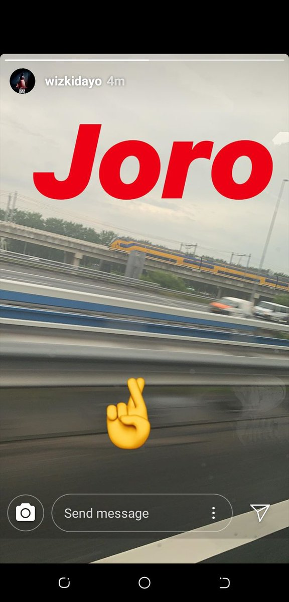 All i know is one day i will wake up to this #JORO i know WizKid av give us enough bagers this year from #low to #ilikeit but it will be better if he give us his official single #JORO<br>http://pic.twitter.com/avfCXtCRpc