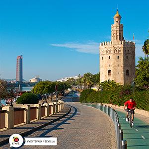 spain Sevile, Bike-friendly city 👌 https://t.co/f95KYNUz8V  #Sevilla #bikeLifeStyle #bikes #Andalusia #SpainUrban #SpainExperience #VisitSpain #TravelTip 🚲 sevillaciudad Ayto_Sevilla viveandalucia