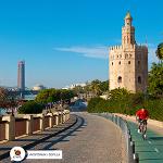 Image for the Tweet beginning: spain Sevile, Bike-friendly city 👌