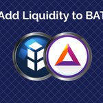 Image for the Tweet beginning: $BATBNT is currently the most
