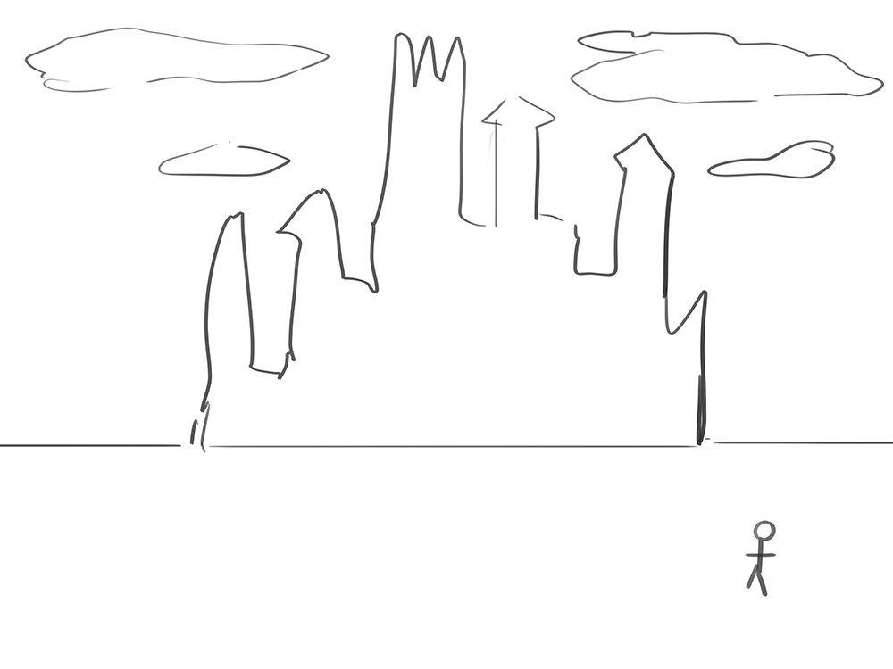 スケールのある遠景を描く際に簡単に使える即効性のある背景小技8個ほどについて書きました。ご興味ある方は是非
