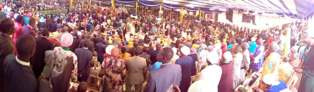 The worship is now high in the Nakuru Main Altar worshipping together with the MIGHTIEST PROPHETS OF THE LORD. Tune in to @K24Tv  or @JesusIsLord_R  and worship with us. #NakuruWordExpo2019<br>http://pic.twitter.com/IwFkKkIJbA