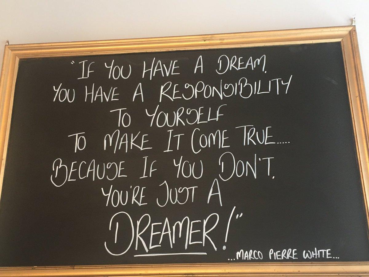 I'm gonna keep working hard & learn on the way- follow dreams