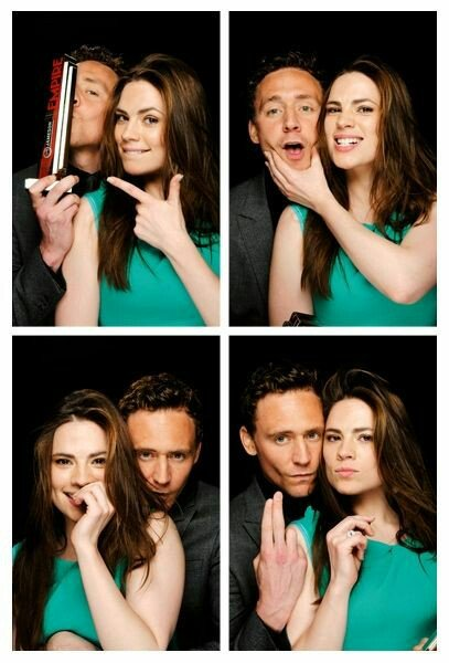 #HiddlesLetterP photobooth with Hailey Atwell at the Empire Awards.  @HiddlestonSpam<br>http://pic.twitter.com/iwk5zoJOZm