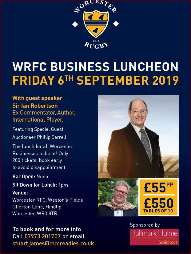 Evening #WorcestershireHour CALLING ALL RUGBY FANS!  Come meet & listen to a commentating LEGEND!  Friday 6th Sep - LAST FEW TKTS AVAILABLE.   <br>http://pic.twitter.com/EApjpoK6NB