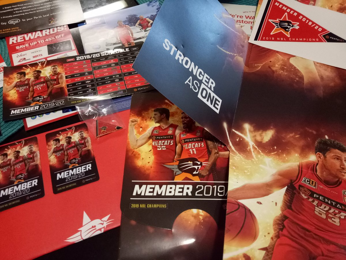 Locked in for season number 27 as a @PerthWildcats member 🙌 #RedArmy #StrongerAsOne https://t.co/1menYl9riG