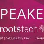 Image for the Tweet beginning: RootsTech Salt Lake 2020!