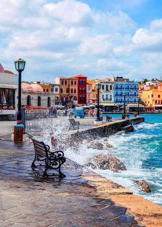 Port of Hania, #Crete, #Greece. #travel #musttravel<br>http://pic.twitter.com/Zj0sGMJeAl