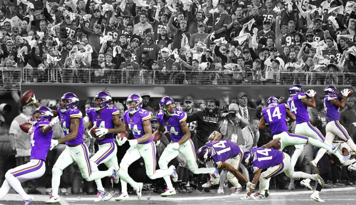 Unique motion lapse of Stefon Diggs Minneapolis Miracle catch. #vikings <br>http://pic.twitter.com/Z7S0I0Lcwi