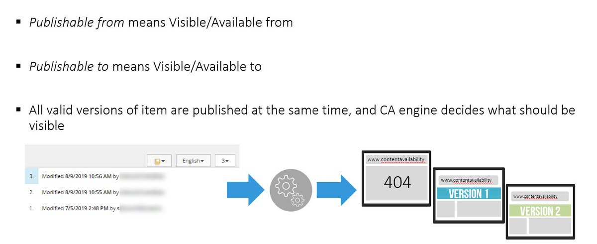 Two articles about the #content availability feature mindset. For #Sitecore #contentcreators and developers  http:// blog.senktas.net/2019/08/16/con tent-availability-for-content-authors/  …    http:// blog.senktas.net/2019/08/10/dee p-dive-to-content-availability-feature-in-publishing-service/  … <br>http://pic.twitter.com/KJByxRWuk1