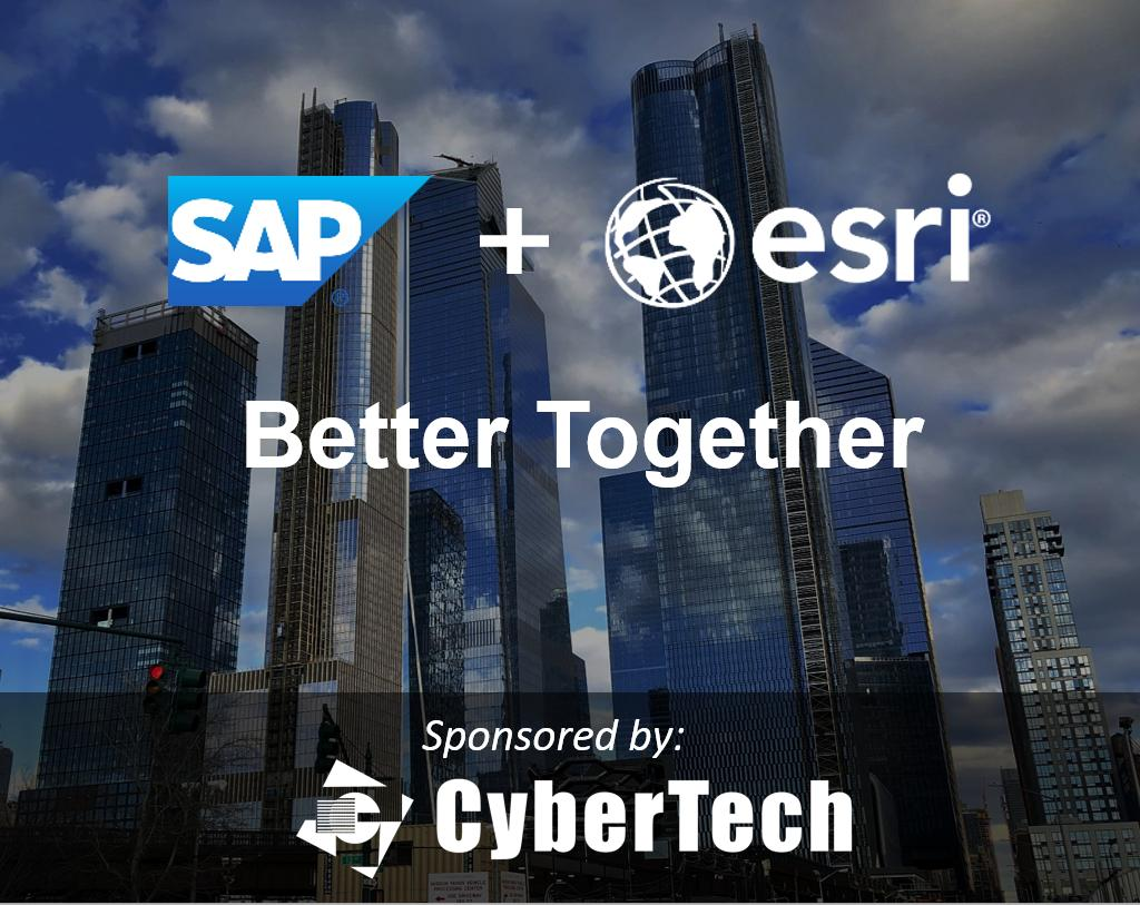 Can your company benefit from full integration of enterprise and spatial data for greater insights, improved business decisions, and quicker innovation? Learn about @Esri ArcGIS powered by #SAPHANA. Register now for an in-person event:  http:// sap.to/6018EFISs     #SAPPartner #SAPEsri<br>http://pic.twitter.com/UX4tzfpuuM
