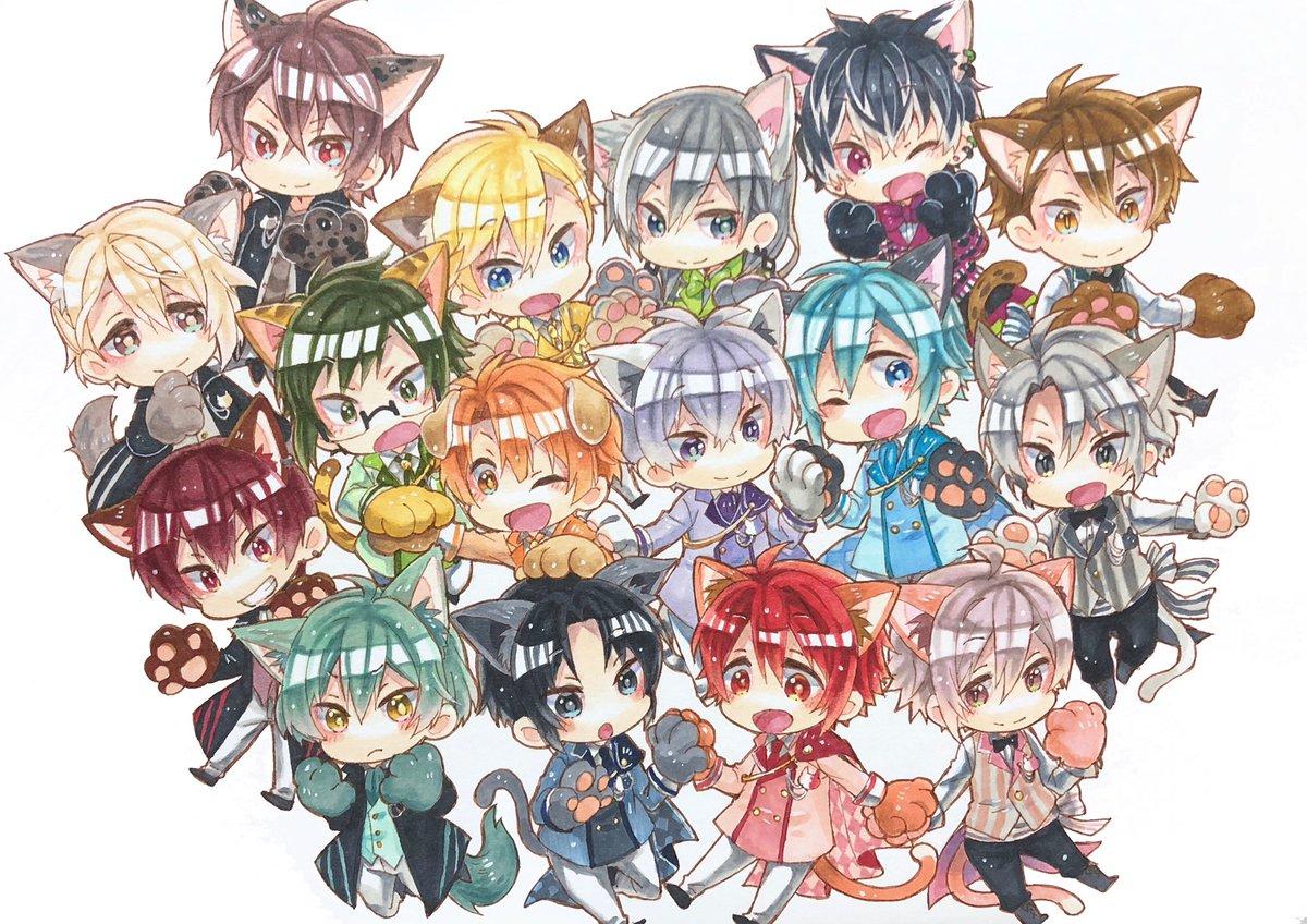 アイナナ4周年おめでとうーー!!🎉🎉🎉✨今本編色々大変だけどまたみんな揃って日本に戻ってきてくれるのを待ってます…!!これからも応援し続けるよ! #アイナナ4周年