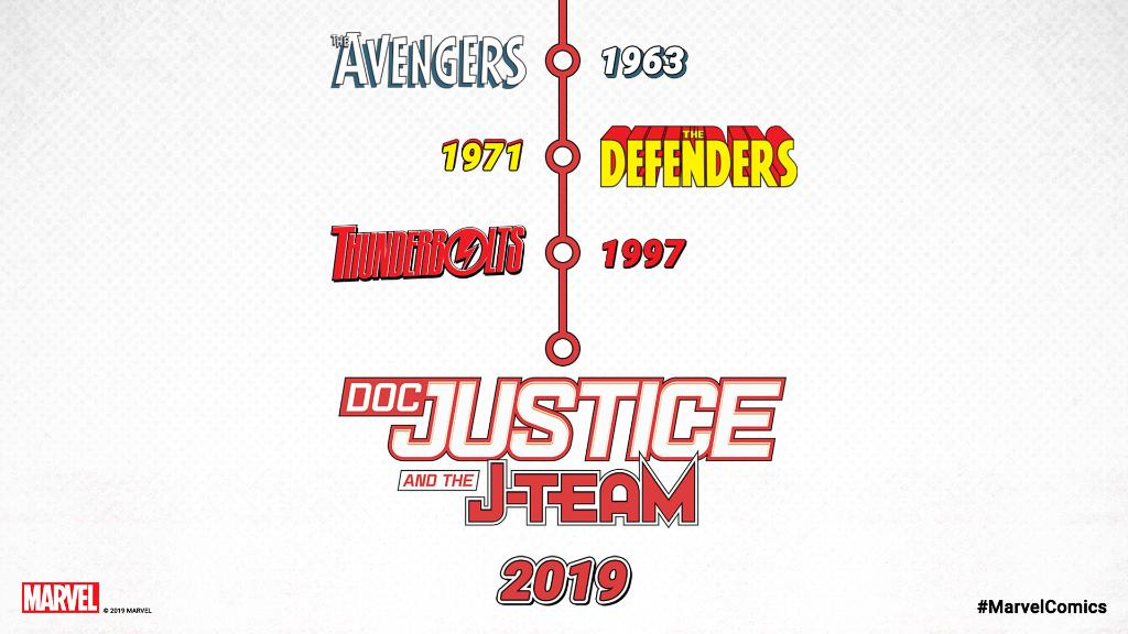 .@Marvel announces its next great superhero team 'Doc Justice and the J-Team' 👀