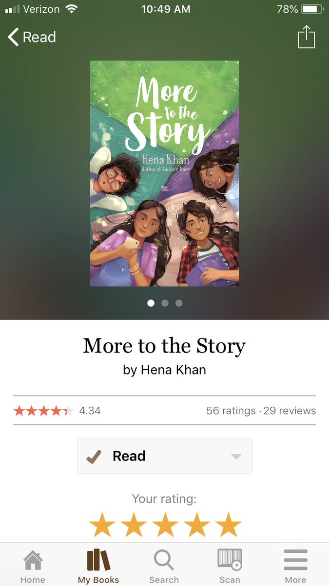 I loved the family @henakhanbooks has created in More to the Story. I could feel the Little Women similarities & loved learning about the unique qualities of each girl. I will def be adding this to my classroom library. #bookexpedition on its way to you @KReilley5  <br>http://pic.twitter.com/UcFbDOGqQB