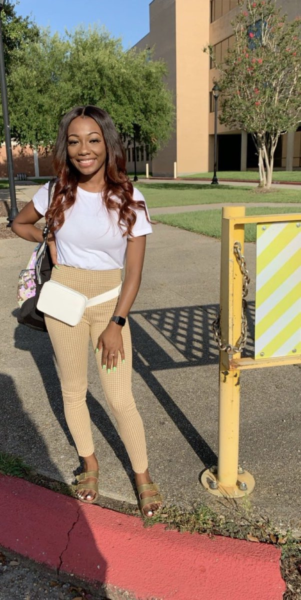 First Day of College 💙💛