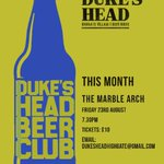 Image for the Tweet beginning: Duke's Head-Fest: Manchester! -