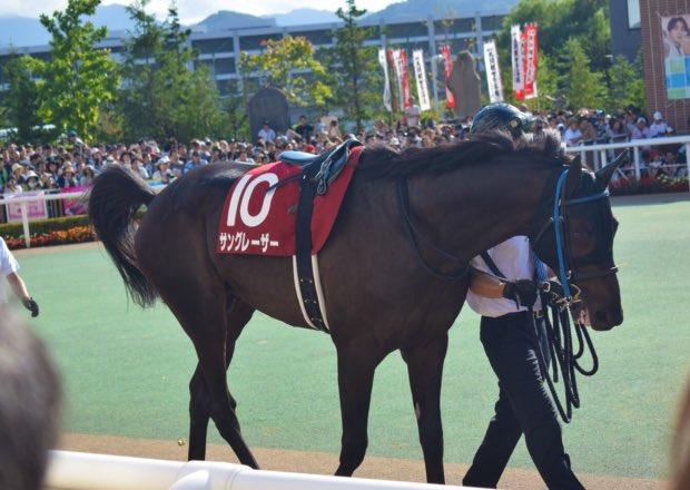 8/18 第55回 札幌記念 10番 サングレーザー(岩田 康誠騎手)
