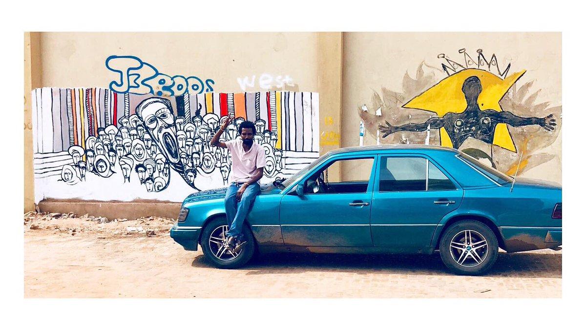 Power of the people #art #contemporaryart #contemporaryafricanart #sudanrevolts #sudan #khartoum #peopleofsudan #contemporarypainting #africa #revolution #sudanuprising #revolutionofsudan #blueforsudan #muralpainting #streetart #africanstreetart #streetartists #mural #muralist