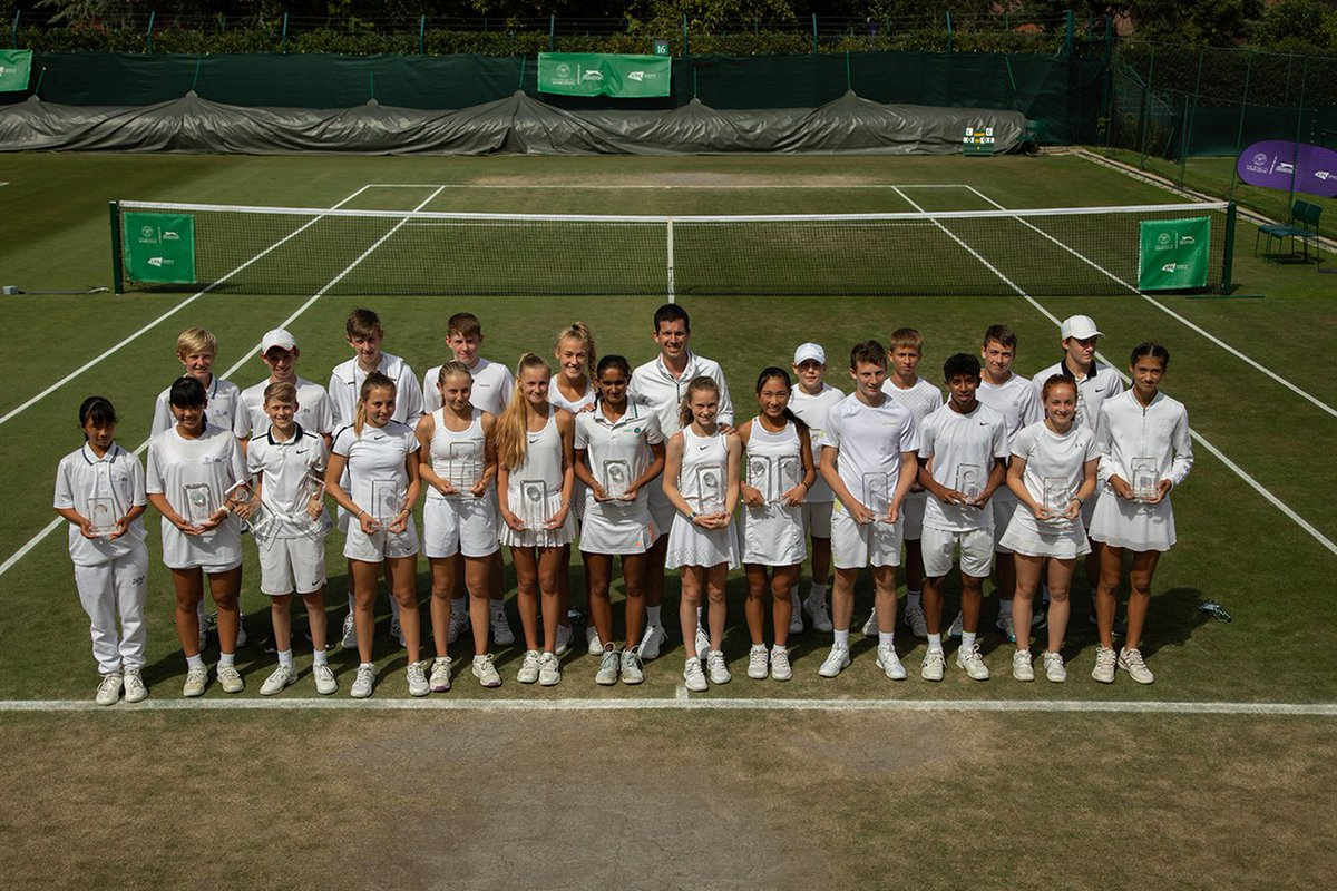 In 2019, nearly 9,000 juniors from across the UK and Asia competed in the Road to #Wimbledon, our international 14U tournament 🌏 And this weekend, the final champions were crowned...