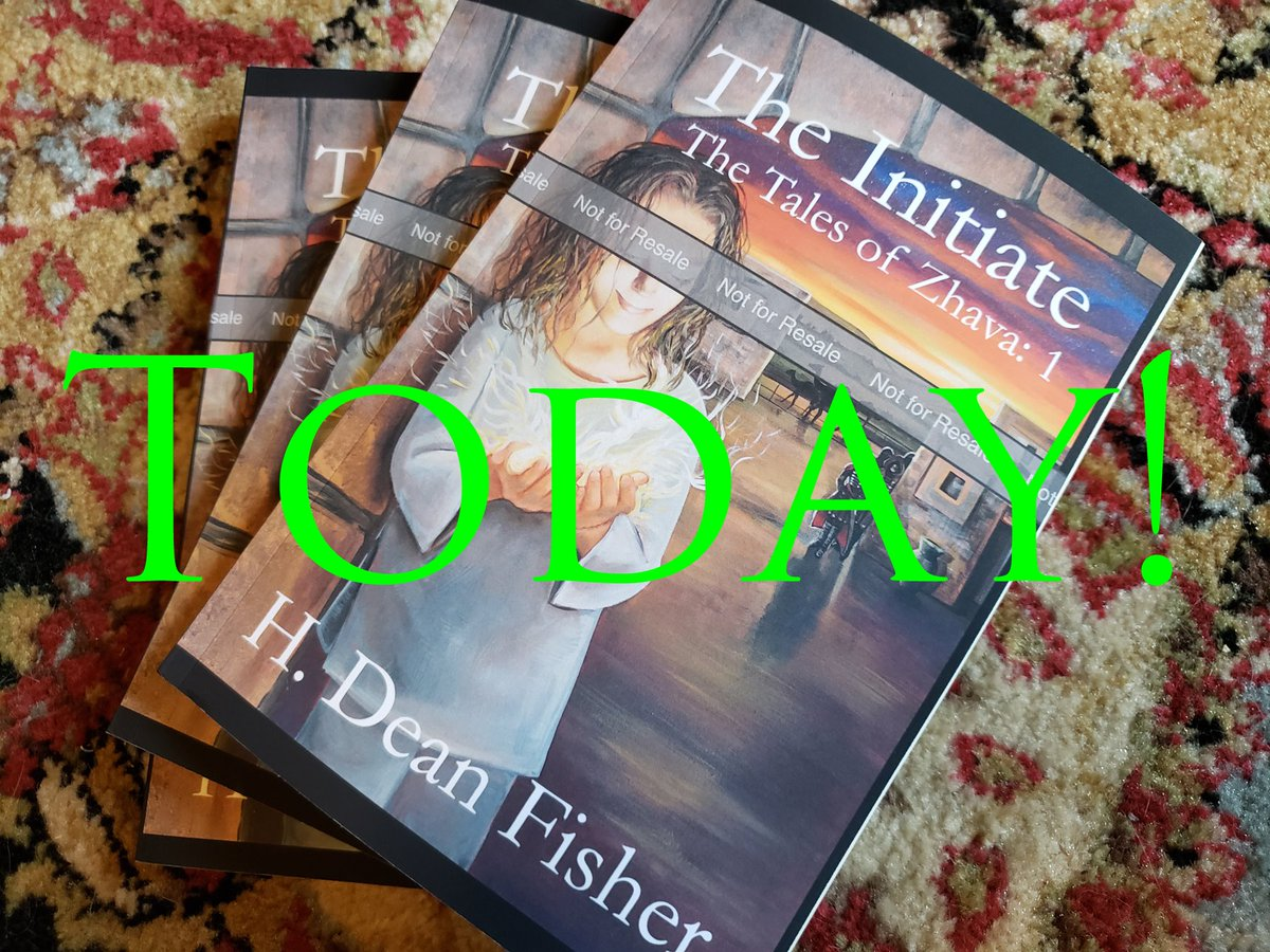 Todays the day! The Initiate is now live on Kindle! Yay! amazon.com/dp/B07SX14ZQQ