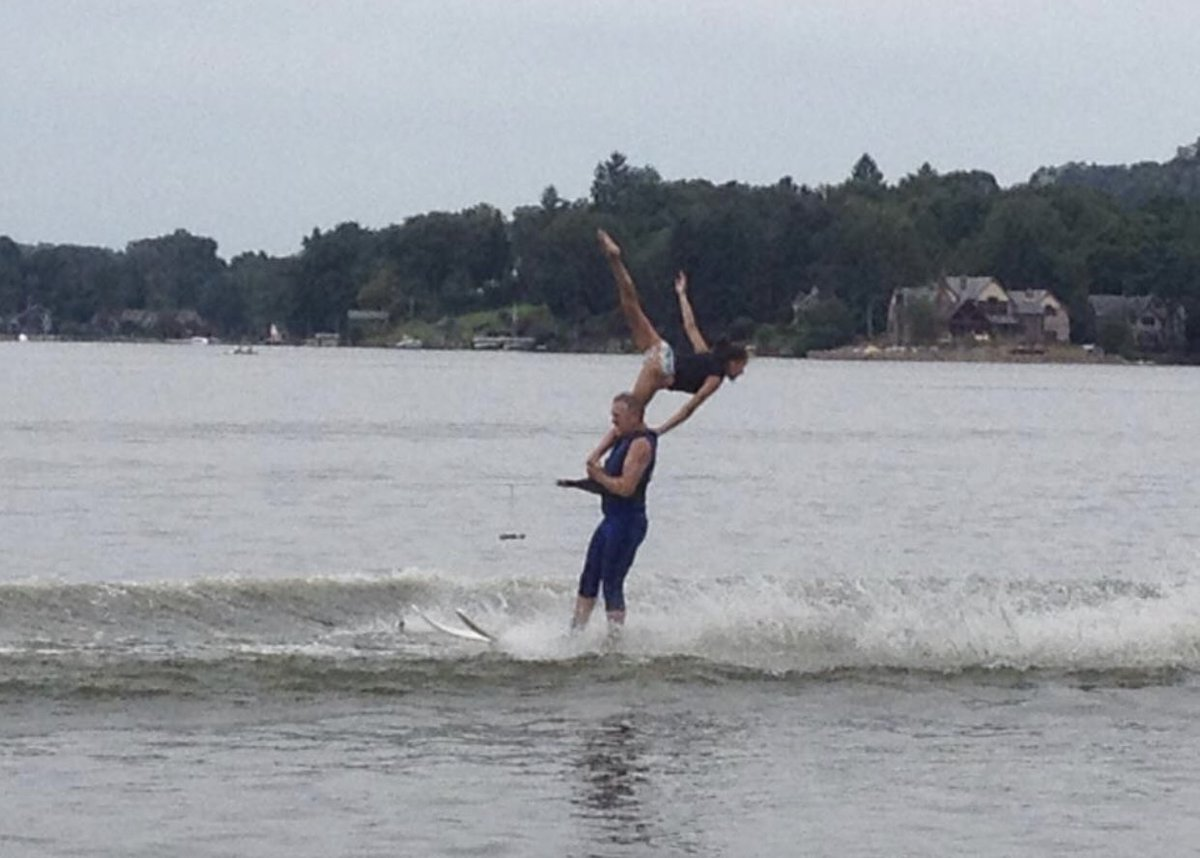 throwback photo from when I belonged to a Water Skiing Team taken 7 years ago  -  <br>http://pic.twitter.com/iXmR85XxVg