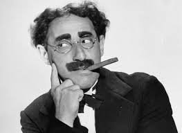 """I was married by a judge. I should have asked for a jury."" ― Groucho Marx (died this day, August 19, 1977)"
