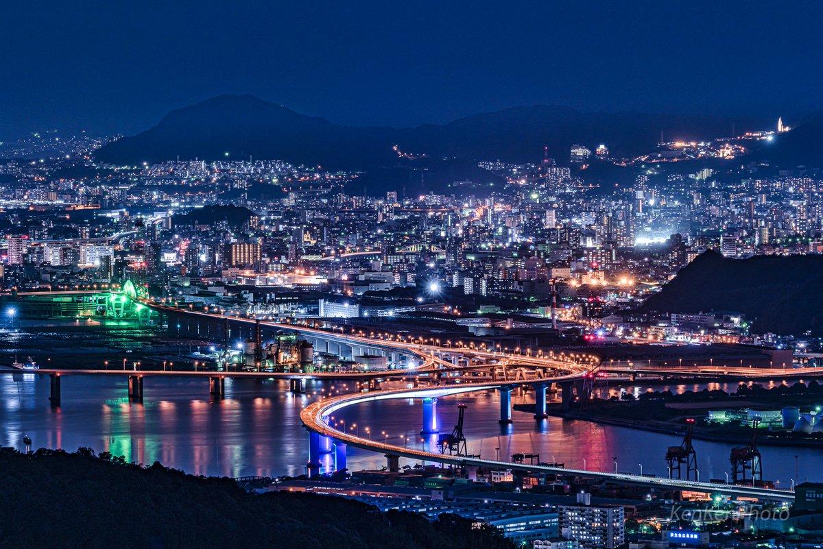 広島の夜景、ちょっと綺麗すぎませんか?#広島 #Hiroshima #PASHADELIC #東京カメラ部